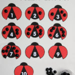 Ladybug Number Quantity Activity
