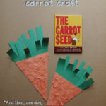 The Carrot Seed Carrot Craft