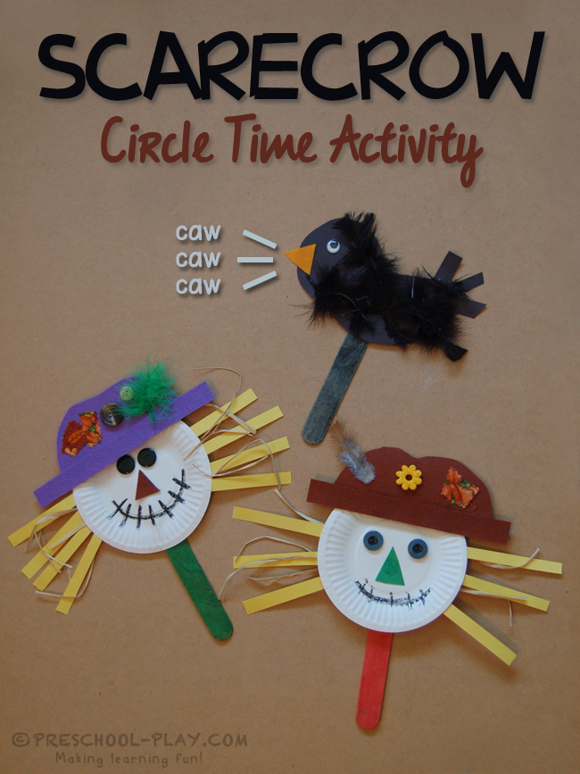 scarecrow circle time activity