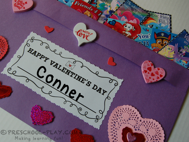 Valentine Card Holder